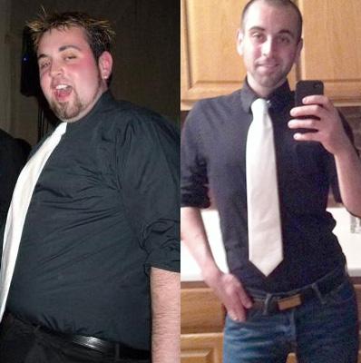 Michel antes y después